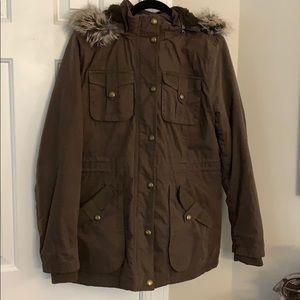 BCBGeneration Brown Winter Coat